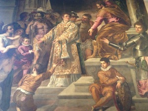 Palma Il Giovane St Lawrence Giving the Wealth to the Poor San Giacomo dell039Orio Venice