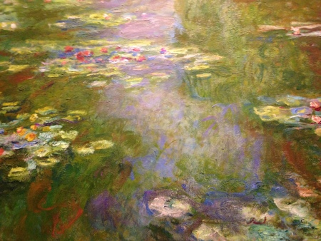 Monet on Election Day