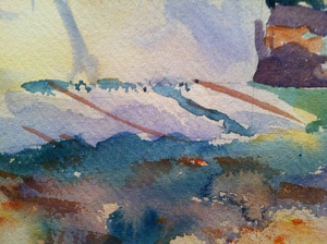 Watercolor Translucence and Resolution
