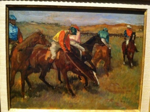 A little further with Degas