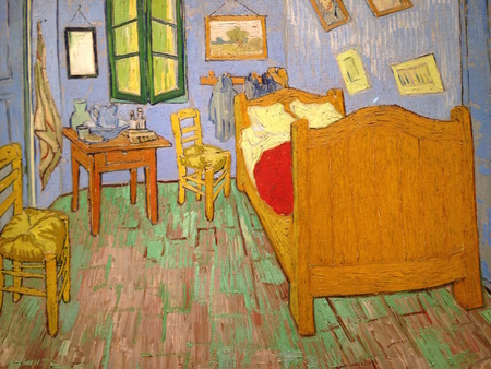 Weekend Glimpse A single room Van Gogh