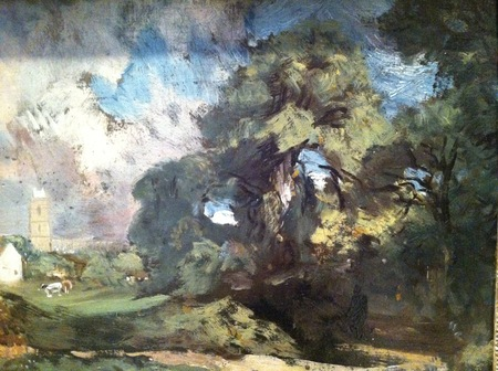 Jane Austen and John Constable Trees in 1811