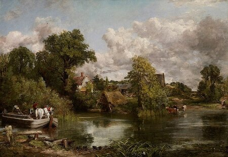 Memory that lives in the landscape  John Constable