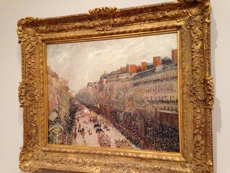 Pissarro in March in memory of Richard Brettell