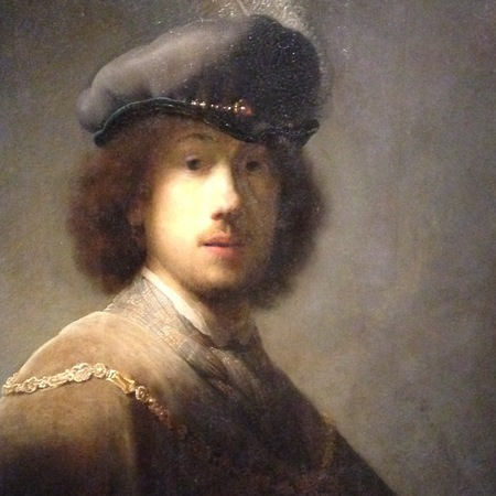 Rembrandt in Gray at the Gardner