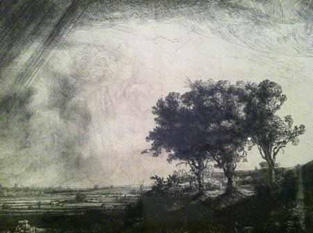 Rembrandt Three Trees